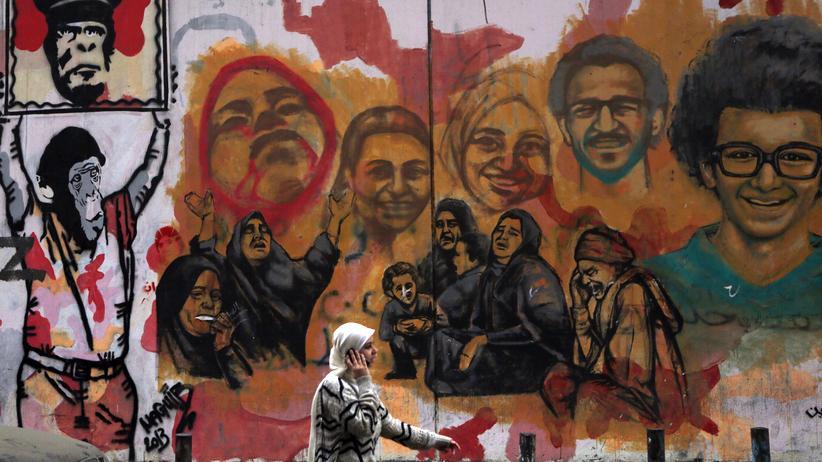 Frau in Kairo