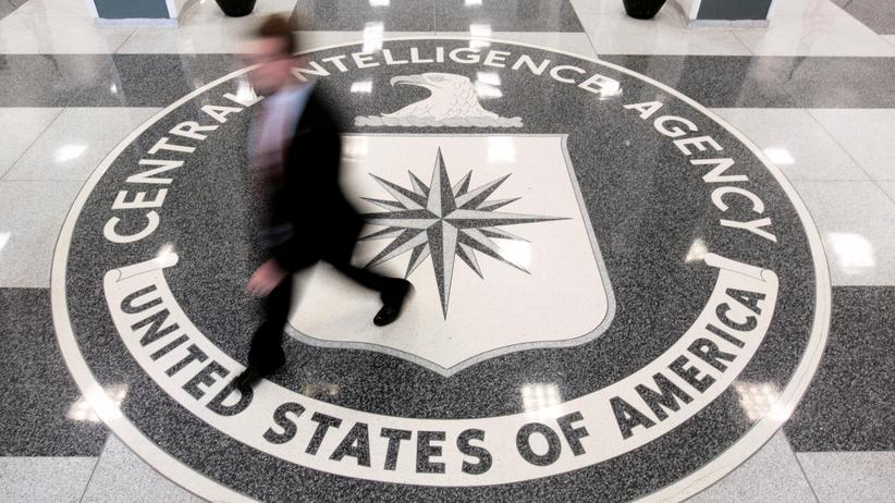 WikiLeaks: Lobby des CIA-Hauptquartiers in Langley, Virginia