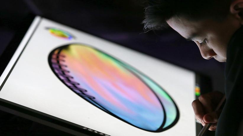 Malen auf dem Microsoft Surface Studio
