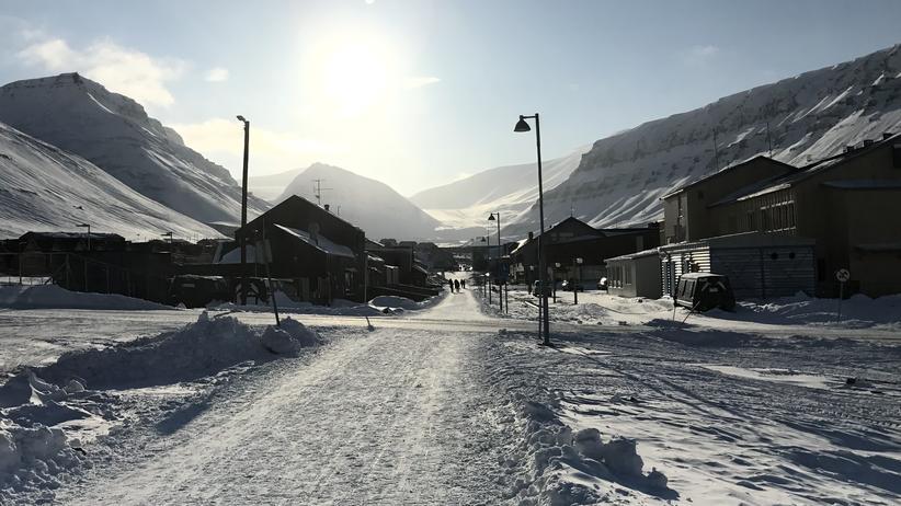 Arctic World Archive: Hier konserviert es sich gut: Im arktischen Klima von Spitzbergen.