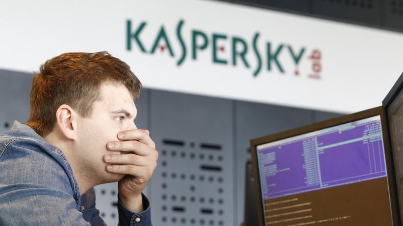 Spionage: Kaspersky-Mitarbeiter in Moskau (Archivbild von 2013)