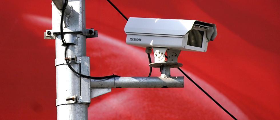 Überwachungskameras in Shanghai