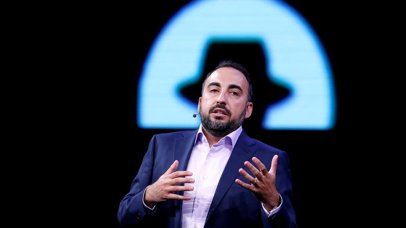 Nacktfotos: Facebooks Chief Security Officer Alex Stamos auf der Black-Hat-Konferenz 2017