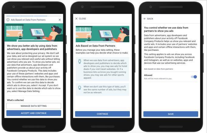 Datenschutz: Die Option für personalisierte Werbung