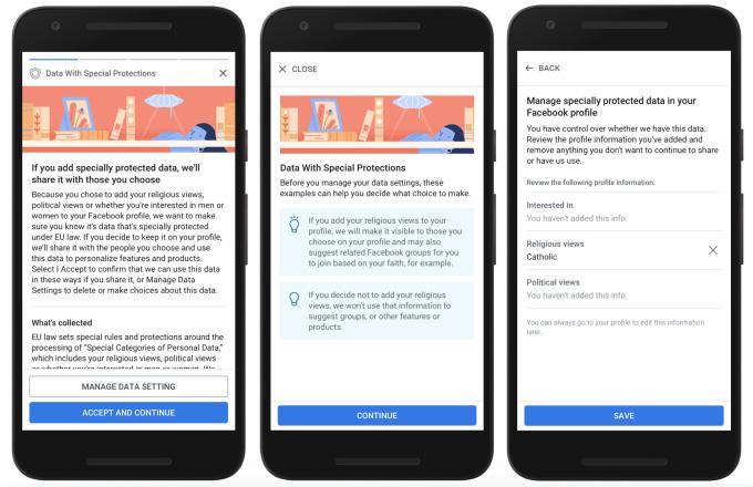 Datenschutz: Die Option für sensible Daten