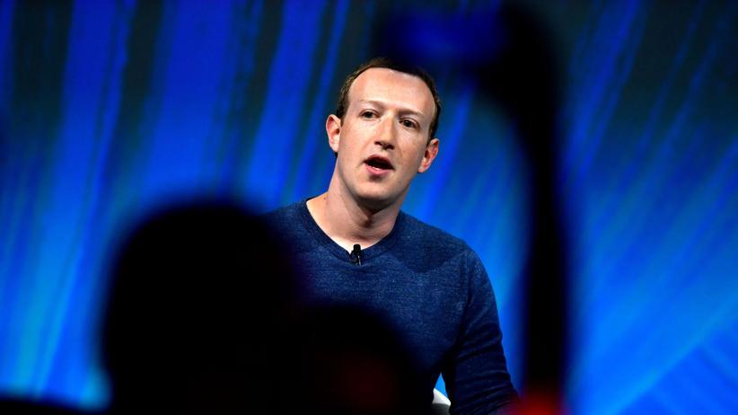 Soziales Netzwerk: Facebook-Chef Mark Zuckerberg bei einem Auftritt in Paris