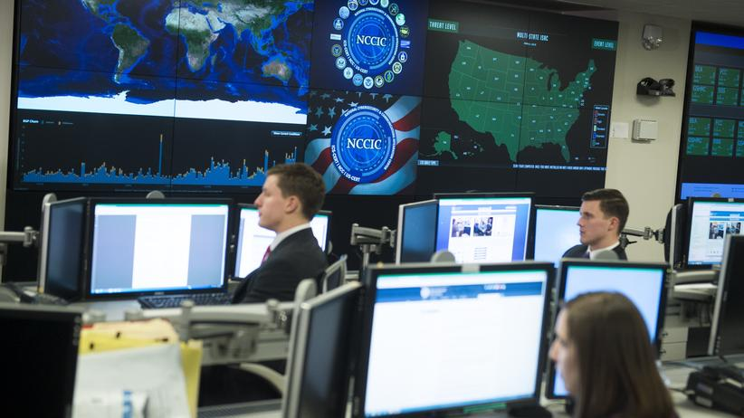 Wahlkampf USA: Das National Cyber Security and Communications Integration Center in Arlington, USA