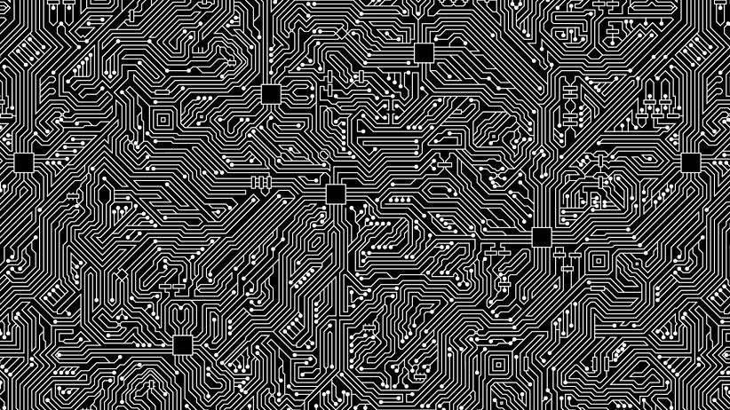 Quantencomputer:  53 Qubits sollen auf dem Chip arbeiten, den Googles Forscher entwickelt haben wollen.