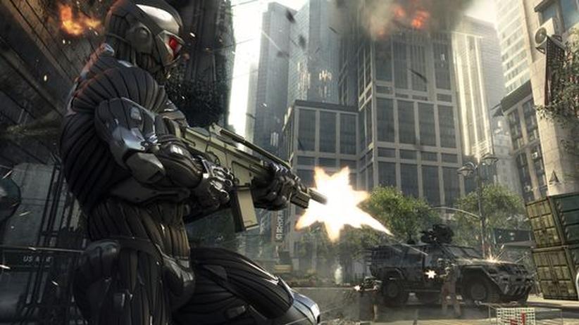 Werden die Wünsche des Schweizer Parlaments Gesetz, wären populäre Spiele wie Crysis2 dort wohl komplett verboten