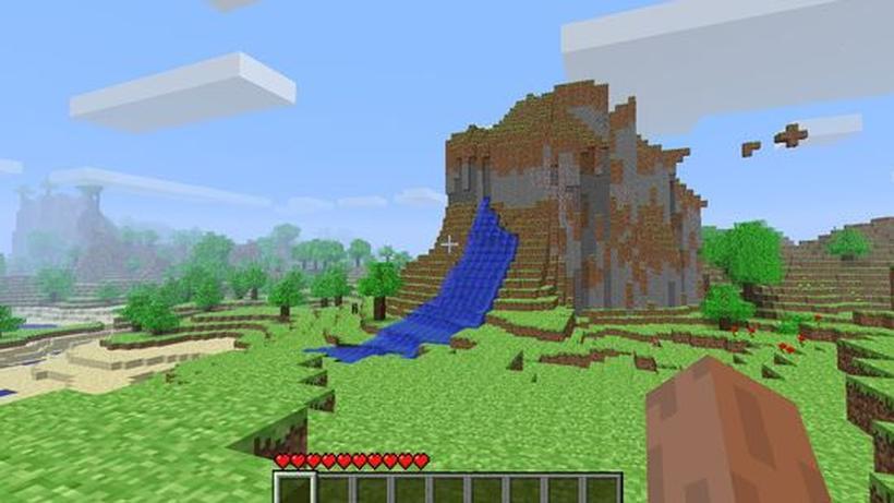 Minecraft Block Um Block Eine Eigene Welt Errichten ZEIT ONLINE - Spiele in minecraft bauen