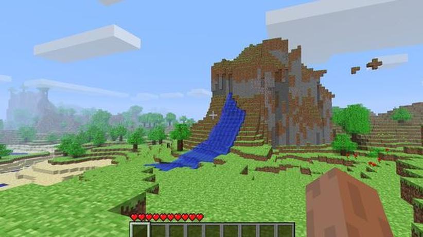 Minecraft Block Um Block Eine Eigene Welt Errichten ZEIT ONLINE - Minecraft block spiele