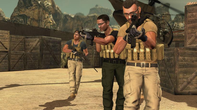 Kinect-Shooter: Schießen, in Deckung gehen, schießen