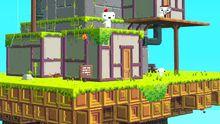 """""""Fez"""" hat beim Independent Games Festival den Hauptpreis gewonnen. Im Spiel erkundet die 2D-Figur Gomez eine 3D-Welt."""