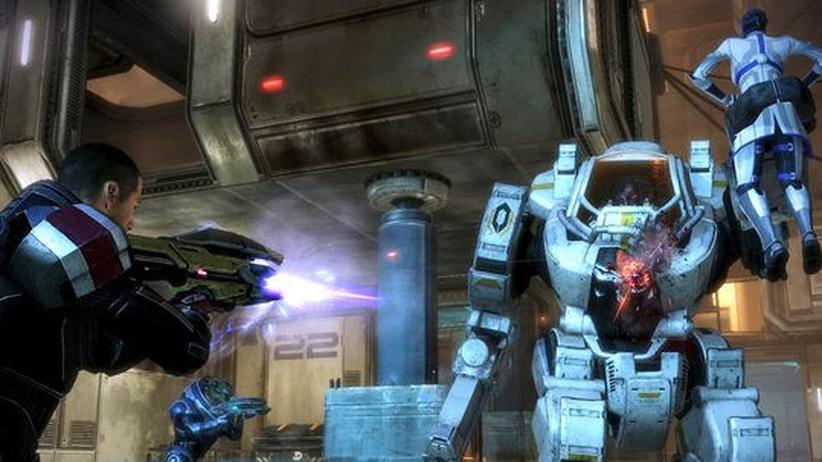 Mass Effect 3: Spieler fordern ein neues Ende für die Trilogie