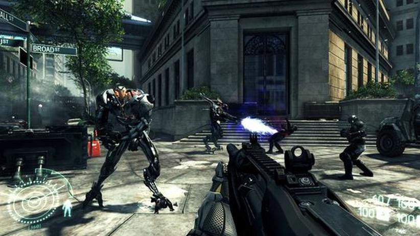 """Debatte um """"Crysis 2"""": Der Computerspielpreis, der keiner sein soll"""