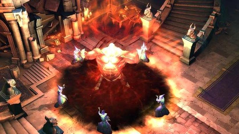 "Virtuelle Welten: Screenshot aus ""Diablo III"""