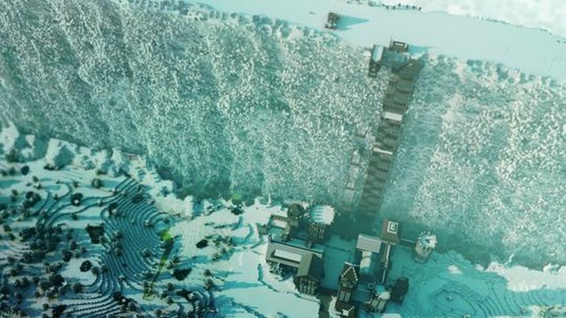 Minecraft: Kontinente aus Klötzchen