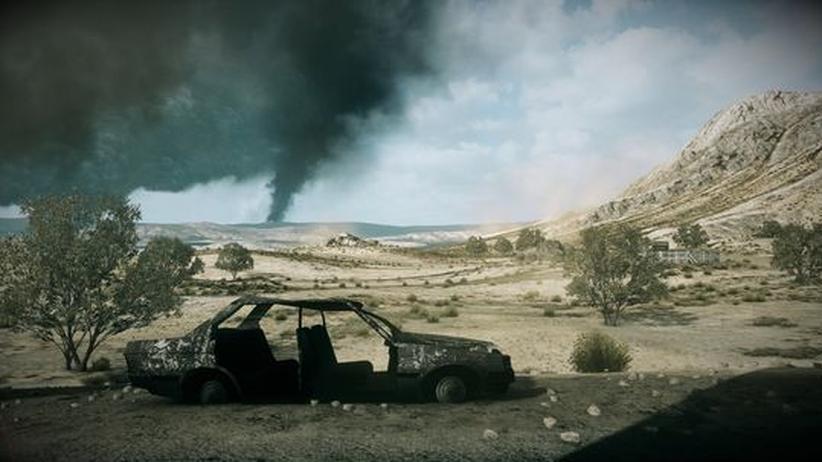 """In-Game-Fotografie: Foto von Duncan Harris aus """"Battlefield 3"""""""