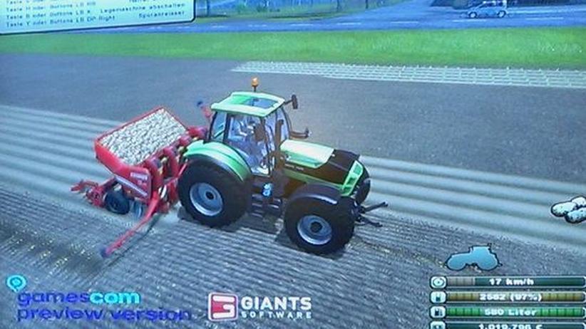 Gamescom: Wenn der Bauer am Computer weiterpflügt