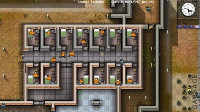 Indie-Game: Gehen Sie ins Gefängnis – als Chef