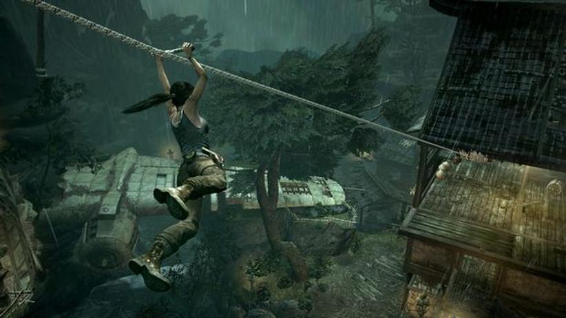 Tomb Raider: Lara Croft, die unrealistische Kampfmaschine