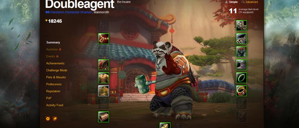 Pandaren von Spieler Doubleagent