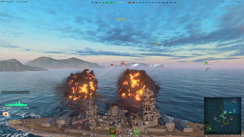 "Gamescom: Gefecht in ""World of Warships"""