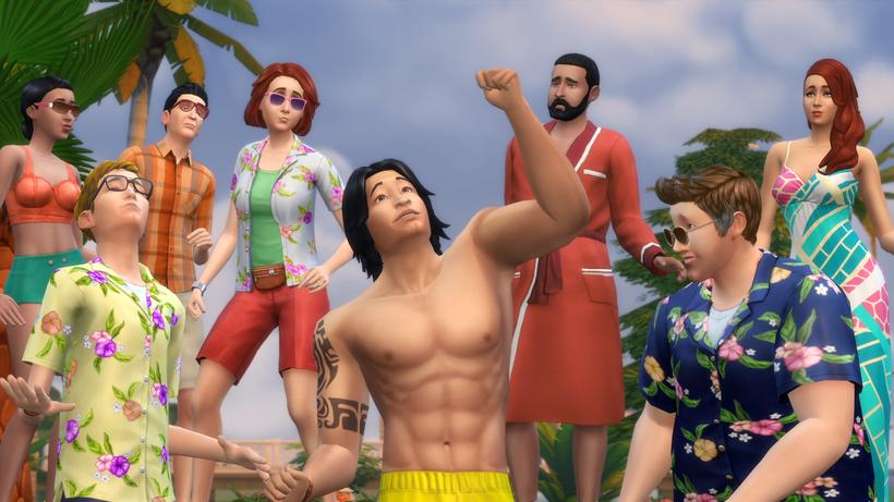 Die Sims 4 Witziger Als Liebeskummer Ist Nur Der Tod Zeit Online