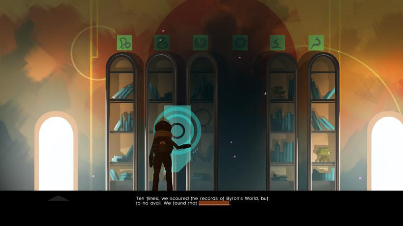An vorgegebenen Stellen können die Spieler die Geschichte schreiben.