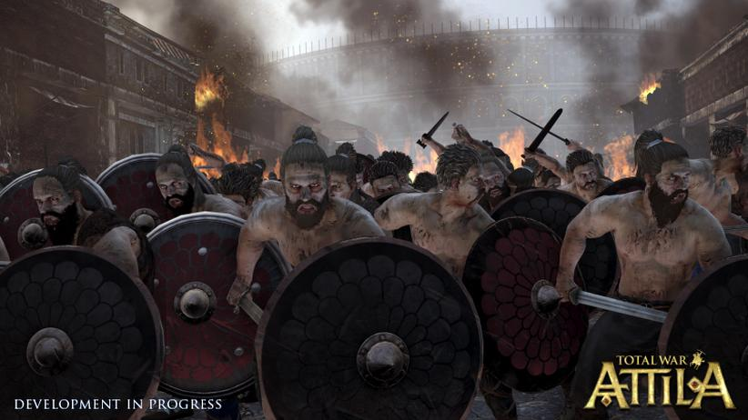 """Total War: Attila"": Digital, ""Total War: Attila"", Strategiespiel, Geschichte, Videospiel"