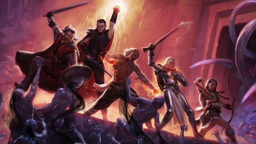 "Poster-Art von ""Pillars of Eternity"""