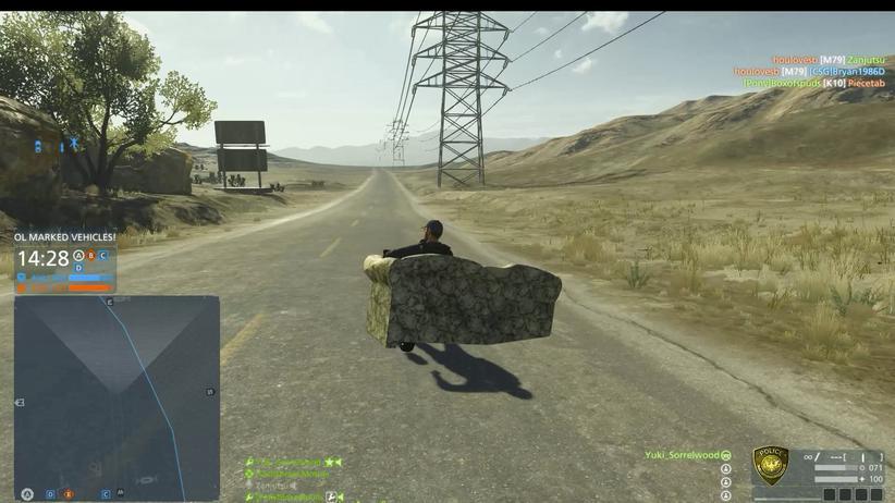 """Auf der Couch durch die Wüste in """"Battlefield Hardline"""""""