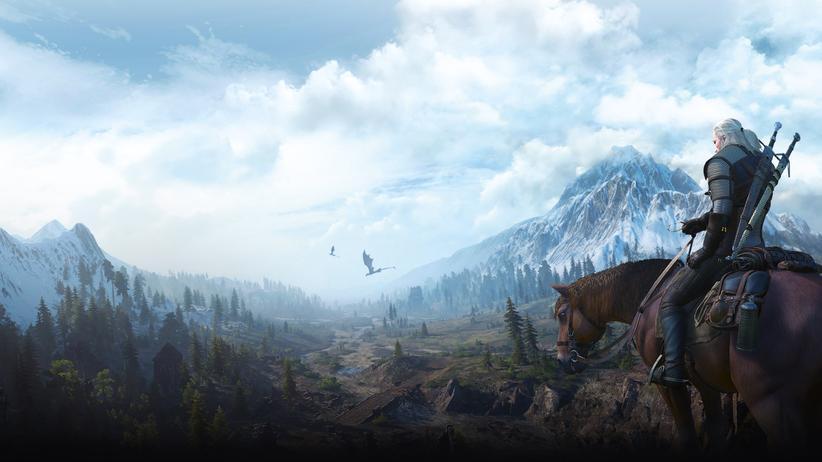 """""""The Witcher 3"""": Geralt von Riva ist der Witcher."""