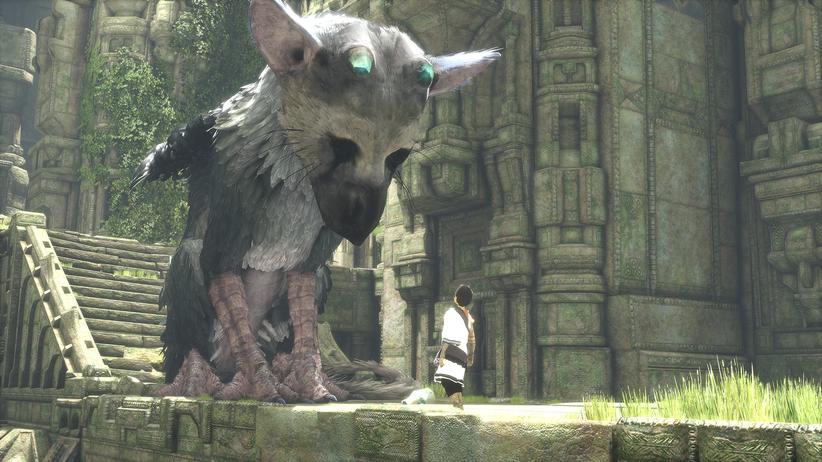"""Games-Messe E3: Die Überraschung des Abends: Das Abenteuerspiel """"The Last Guardian"""" lebt und soll 2016 erscheinen."""