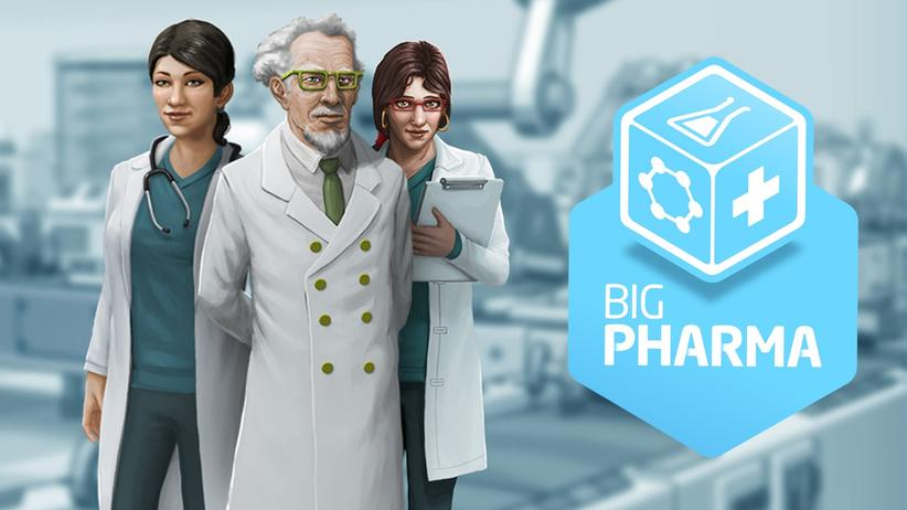 """In """"Big Pharma"""" managen die Spieler einen Pharmakonzern."""