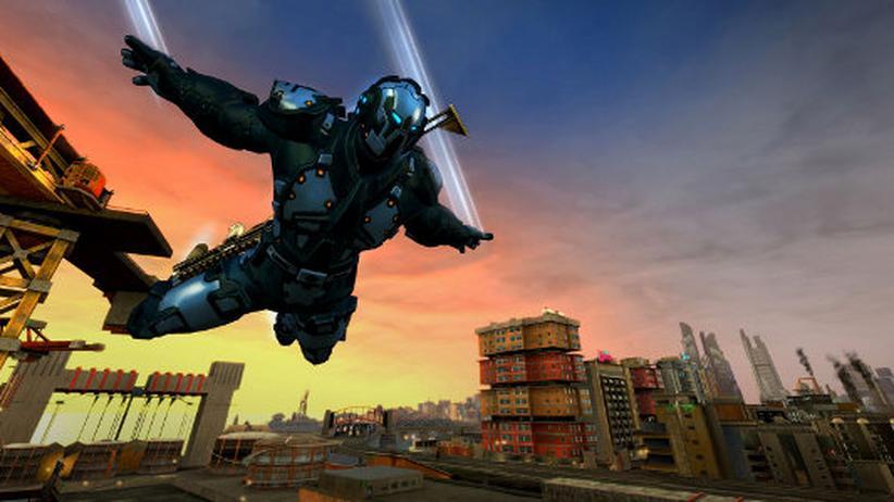 """Das Open-World-Spiel """"Crackdown 3"""" soll eine komplett zerstörbare Welt bieten."""