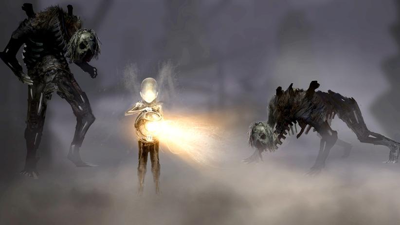 Die Kreaturen des Flock haben es auf den Träger des Lichts abgesehen.