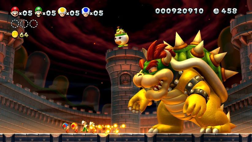 Bowser, der Erzfeind von Super Mario ist ein bekannter Boss.