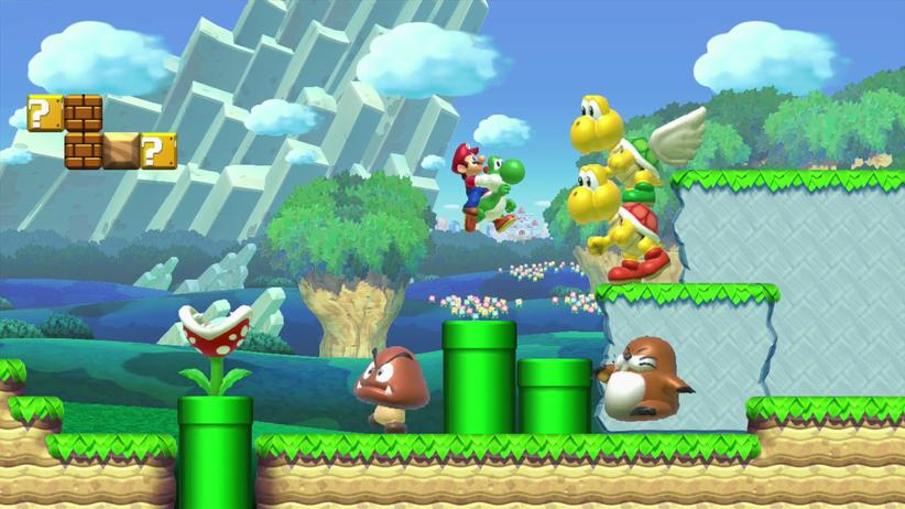 """""""Super Mario Maker"""" ist der erste offizielle Level-Editor der Spielereihe."""