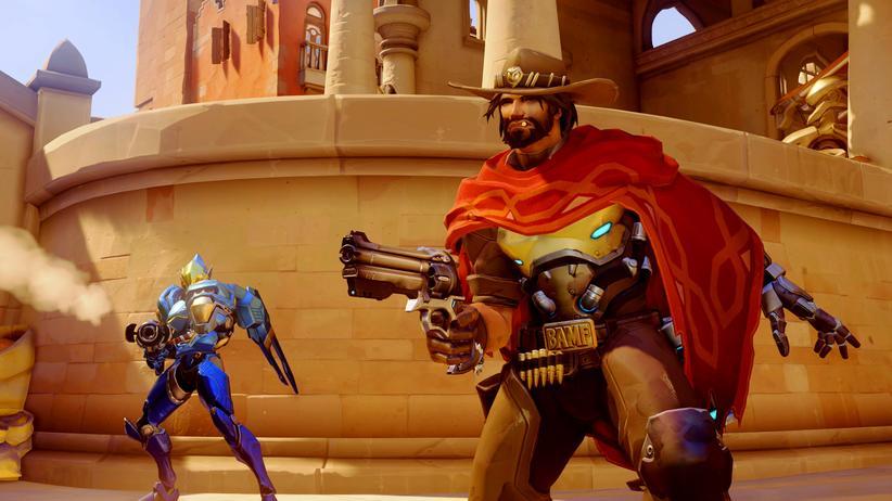 """Der Cowboy McRee ist einer der Helden in """"Overwatch""""."""