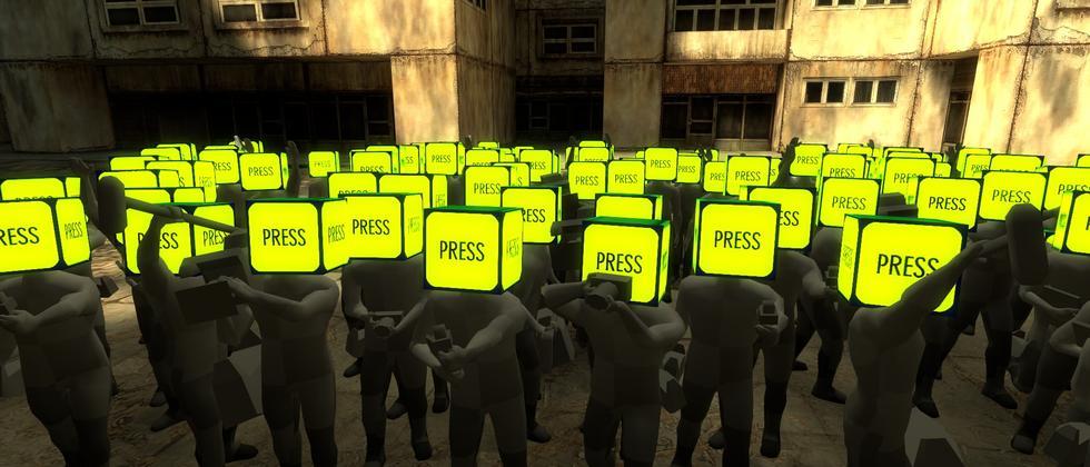 Das Interesse der Presse kann unheimlich sein.