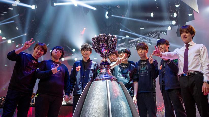 """Die """"Worlds""""-Gewinner von SK Telecom"""