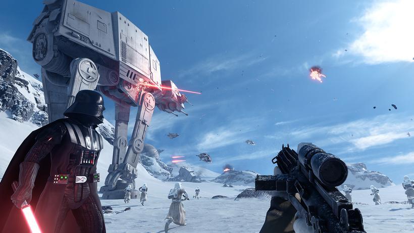 Star Wars Battlefront Begonnen Der Angriff Auf Die Wohnzimmer