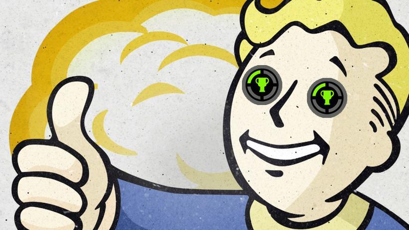 """Ist der Vault Boy aus """"Fallout"""" ein Achievement-Jäger?"""