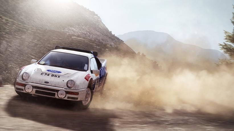 """Rallye-Games: In """"Dirt Rally"""" steht die Beherrschung des Fahrzeugs im Vordergrund."""