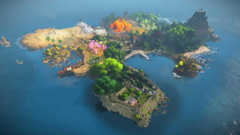 """The Witness"": Die Rätselwelt von ""The Witness"""