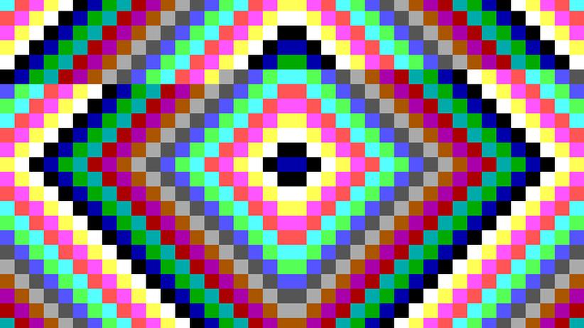 """Eine Variante des """"Virdem""""-Viruses, einer der ersten Viren für DOS"""