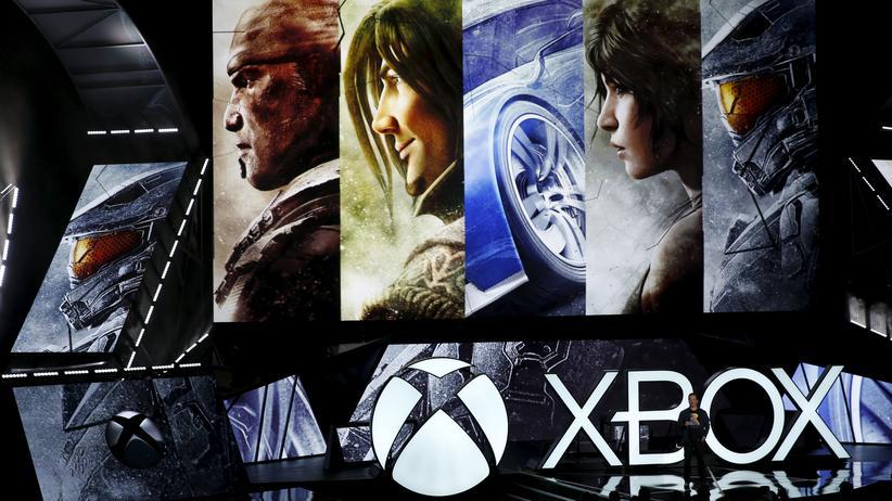 Exklusive Xbox-One-Spiele während einer Präsentation im vergangenen August