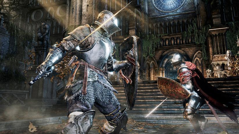 """""""Dark Souls 3"""": Auch """"Dark Souls 3"""" lebt von anspruchsvollen Gefechten."""
