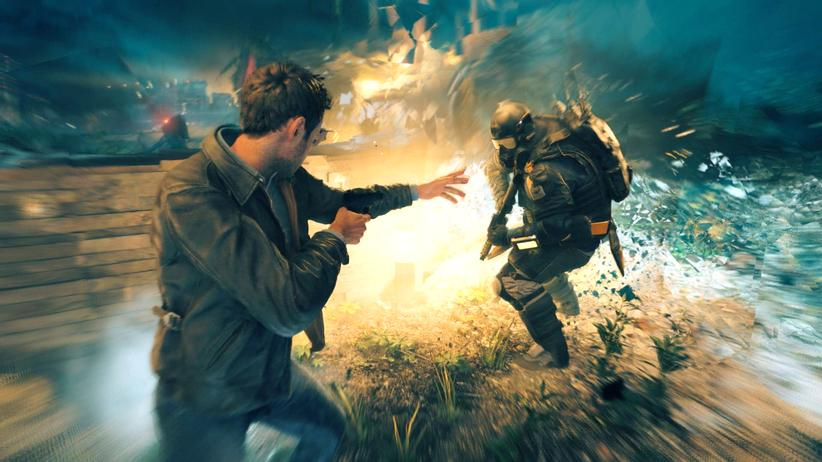 "Screenshot aus ""Quantum Break"""